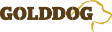 Gold Dog Tents Logo
